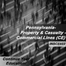 Pennsylvania: 6hr CE - Property and Casualty Insurance - Commercial Lines